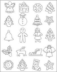 Small Picture Christmas Food Coloring Pages