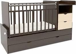 Детская <b>кроватка Sweet Baby</b> Valentino Wenge Avorio (Венге ...