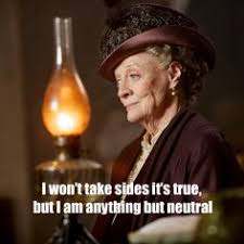 Lady Violet Grantham on Pinterest   Dowager Countess, Downton ... via Relatably.com
