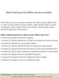 top 8 chief security officer resume samples in this file you can ref resume materials security objectives for resume
