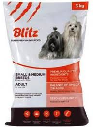 <b>Blitz</b> Adult Small and Medium Breeds, <b>корм</b> для собак мелких и ...