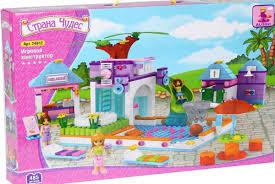 <b>Конструктор Ausini Аквапарк</b> - 24812 | детские игрушки с ...