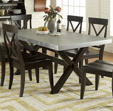 images zinc table top: liberty furniture keaton ii rectangle trestle table item number  t
