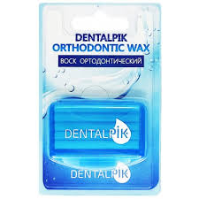 Купить <b>Dentalpik воск</b> ортодонтический для <b>брекетов</b> мятный