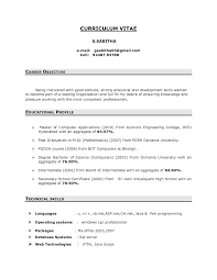 resume career objective berathen com resume career objective to inspire you how to create a good resume 6