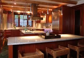 chandelier kitchen island design decorating