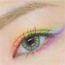 <b>1 pair Natural</b> Light Colored Cosmetic Contact lens Eye Color ...