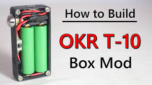 how to build okr box mod tutorial