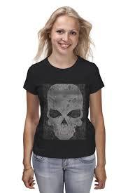 Футболка классическая <b>grunge skull</b> #794173 – заказать женские ...