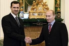نتیجه تصویری برای بشار اسد و پوتین ملاقات