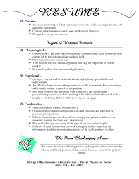 best types of resumes formats types of resumes formats resume resume formats for resumes