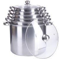 <b>Наборы</b> посуды стальные