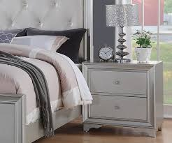 allure silver finish bedroom furniture allure furniture