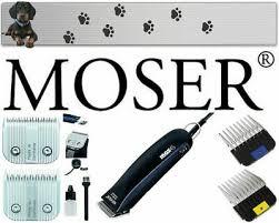 <b>MOSER MAX</b> 45 Clipper + 1 mm Shaving Heads Stainless ...