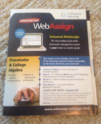 enhanced web assign precalculus and college algebra cengage enhanced web assign precalculus and college algebra cengage learning 9781285858333 com books