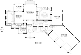 Log House Plan With Angled Garage   Free Online Image House PlansRanch House Floor Plans With Garage on log house plan   angled garage