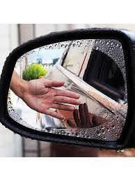 Защитная <b>водоотталкивающая пленка</b> на стекло <b>зеркала</b> ...