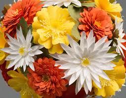 <b>3D</b> Fall Paper Flower Bouquet (Part 2) |