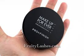 so what is all the buzz about pro finish it actually a buildable coverage foundation that make up for ever pro finish powder foundation