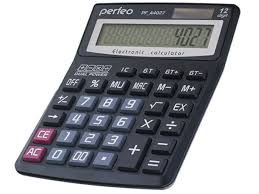 <b>Калькулятор Perfeo Black</b> PF A4027 - Чижик