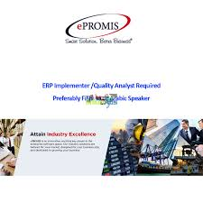 erp implementer quality analyst required in company dubai erp implementer quality analyst required in company dubai