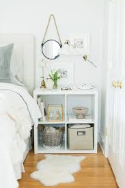 ideas bedside tables pinterest night: storage cubes are no longer being used as just a bookcase take a look at how you can catapult them into many other useful furniture ideas