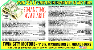 Twin City Buick Twin City Motors In Grand Forks Nd 701 885 2393 Auto Auto Dealers