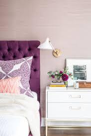 best  purple headboard ideas on pinterest  purple bedroom
