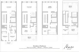 Modern Townhouse Designs and Floor Plans  narrow townhouse floor    Modern Townhouse Designs and Floor Plans