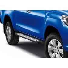 "<b>Пороги</b> алюминиевые ""<b>Bmw</b>-<b>Style</b> круги"" <b>Rival</b> для <b>Toyota</b> Hilux VIII ..."
