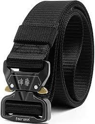 Fairwin <b>Tactical Belt</b>, Adjustable Heavy Duty <b>Belt</b>, <b>Military</b> Style ...