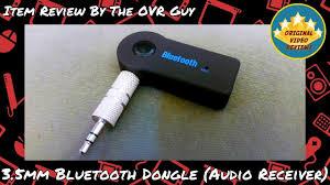 3.5mm <b>Bluetooth</b> Dongle (<b>Audio Receiver</b>) Review - YouTube