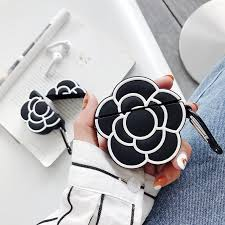 3D Classic Luxury Camellia Flower Women's Shockproof ...
