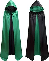 makroyl Unisex Reversible Hooded Cloak Cape for ... - Amazon.com