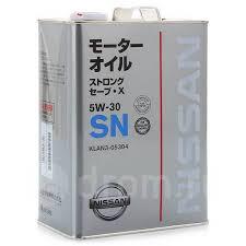 <b>Масло моторное</b> Nissan [KLAN305304] - <b>Моторные масла</b> во ...