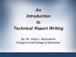 Technical writing report template   Top Essay Writing   www