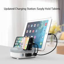 <b>NTONPOWER USB</b> Charging Station Multi <b>USB</b> Charger 40W for 5 ...