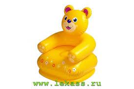 Фото <b>intex</b> 68556 - Детские <b>надувные кресла HAPPY</b> ANIMAL