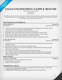 Resume Sales Engineer Sample   Resumes Formater Resumes Formater
