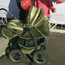 коляска люлька bartplast bari 07 бежевый