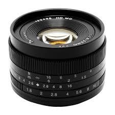 <b>Объектив 7Artisans</b> 50mm F1.8 <b>Sony</b> (<b>E Mount</b>) Чёрный: купить в ...