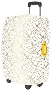 Чехол для чемодана <b>RATEL</b> Art Moments White & Gold S — купить ...