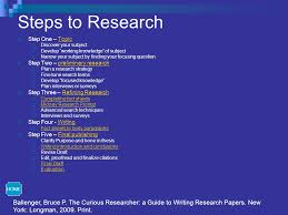Ballenger  Bruce P The Curious Researcher  a Guide to Writing Research Papers