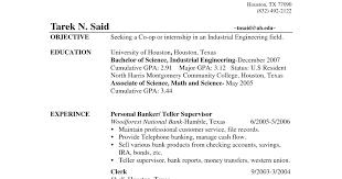 resume objective for bank teller  seangarrette coresume objective for bank teller