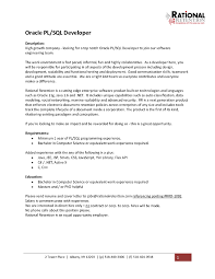 resume for sql developer student resume template sample resume for pl sql developer sample resume 2017