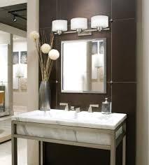 bathroom bathroom using white marble trough sink plus mirror and wall lamp with bathroom cabinets bathroom makeup lighting