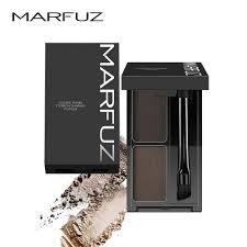 MARFUZ <b>Eyebrow Powder 3 Colors</b> Eye brow Powder Palette ...