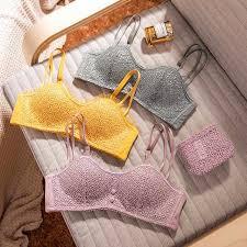 <b>Wasteheart Women Fashion</b> Lace Bra Sets Straps Cotton Panties ...