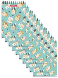 Блокнот на спирали <b>Cat &</b> Box (в плёнке 10 шт.) <b>ErichKrause</b> ...