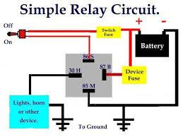 simplerelaycircuit jpg resize 640 480 bosch horn relay wiring diagram bosch image wiring 640 x 480